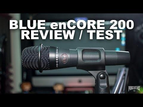 Blue enCORE 200 Active Dynamic Mic Review / Test