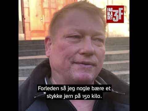 Tømrer Arne Jørgensen Har Knoklet Siden Han Var Teenager