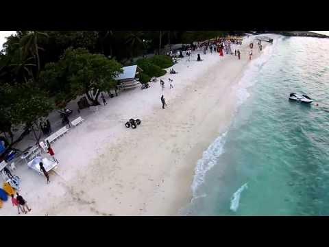 DJI Phantom 2 Vision Flight - Villingili Male' Maldives