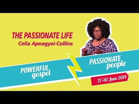 GOfest 2014 -- The Passionate Life -- Celia Apeagyei-Collins