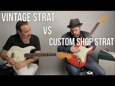 Vintage Strat vs Custom Shop Strat w Jason Sinay
