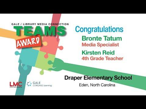 2013 TEAMS Award Winner - Draper Elementary School, Eden NC
