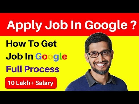 Earn 10,000$ Per Month By Google    How To Get Job In Google    Salary of Google google Employees