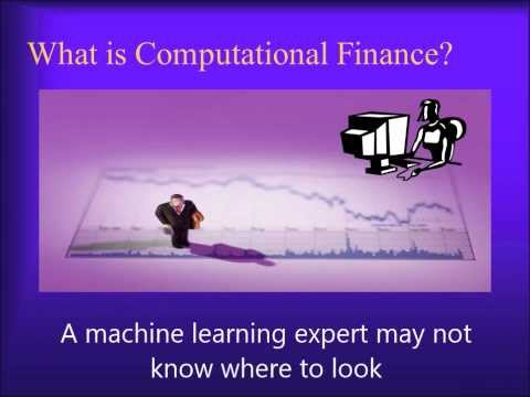 Computational Finance, An Introduction