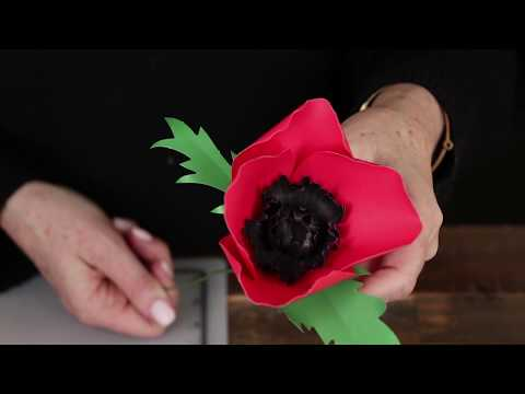 How-To: Paper Poppy Flower