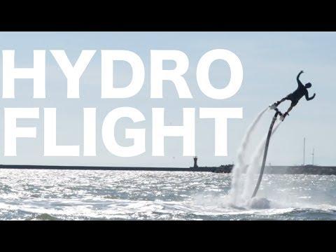 Hydroflying in Japan