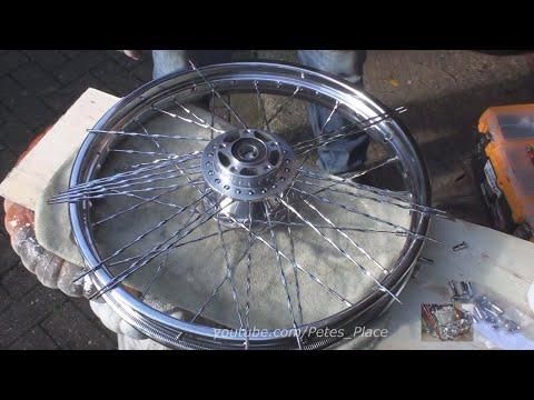 #108 2011 Fxdc Lacing Wheel With Custom Spokes