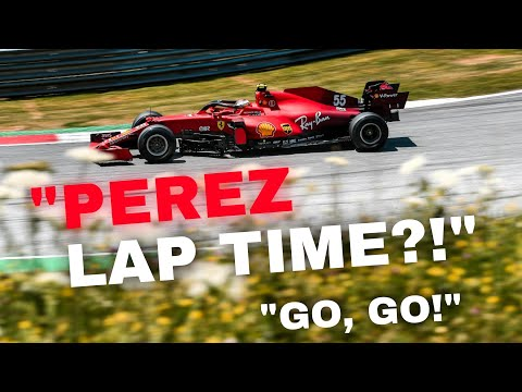 SAINZ TENSE LAST LAP TEAM RADIOS DURING HIS FIGHT TO GET WITHIN 10 SECONDS OF SERGIO PEREZ!