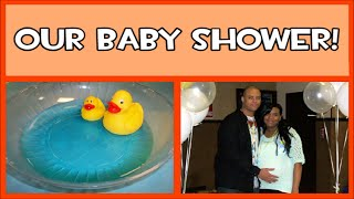 Our Rubber Ducky Themed Baby Shower!