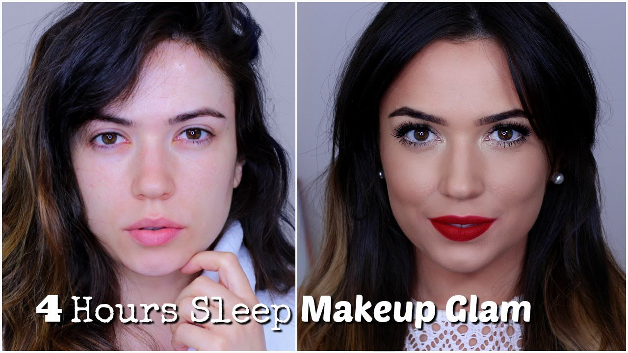 Makeup For When You are Sick/Tired  Bright Eyes + Bold Lips   TheMakeupChair