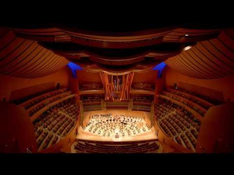 OFFICIAL TOUR - The Walt Disney Concert Hall - Los Angeles
