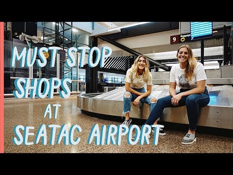 SeaTac Airport Must Stop Shops     Travel Seattle