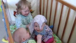 Дети играют с платочком!