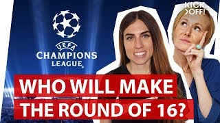 Champions League Draw |  Prediction: who will make the round of 16?