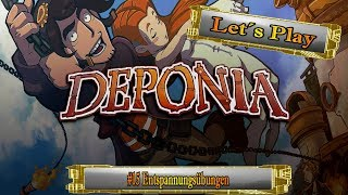 Let´s Play Deponia [I] #15 Entspannungsübungen [Ger] [HD]