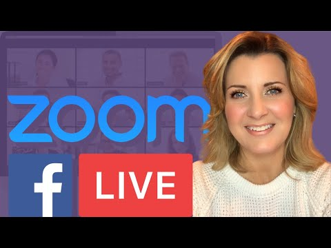 How To Share A Zoom Video Conference On Facebook Live