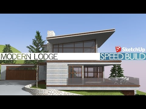 Google sketchup forest home speed build funnycat tv for Sketchup building