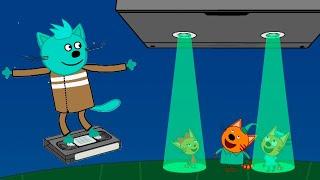 три Кота | Сборник мистических серий | Мультфильмы для детей 👽🌚🌌