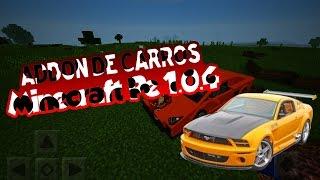 Addons De Carros+Volvi A YouTube Para Minecraft PE 1.0.4