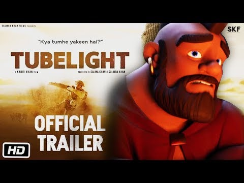 Thumbnail: TUBELIGHT Official trailer ft. Clash of Clans !!👌😂👌 MUST WATCH....