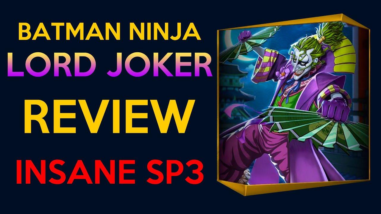 Batman Ninja Lord Joker Review And Guide Injustice 2 Mobile Youtube