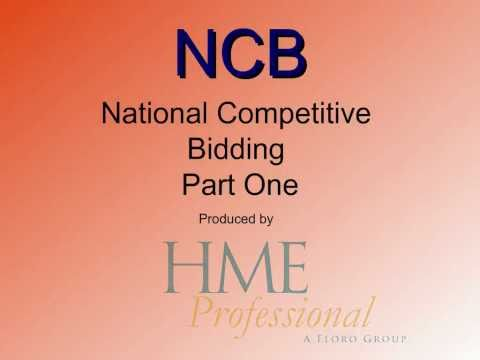 Medicare National Competitive Bidding HME