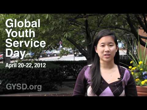 Change the World on Global Youth Service Day 2012!