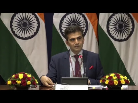 Weekly Media Briefing by Official Spokesperson (November 23, 2017)