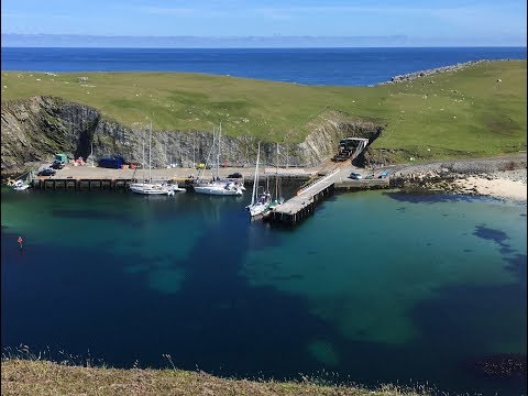 Single Handed Solo Sailing 2017 Part 2 Orkney, Fair Isle & Shetland