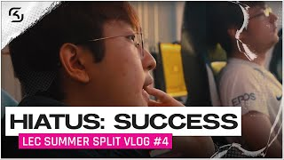 HIATUS: SUCCESS. | SK GAMING LEC VLOG | EPISODE 4 | 2020 Summer