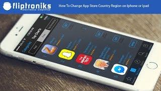 Change Apple Store Country - Disun