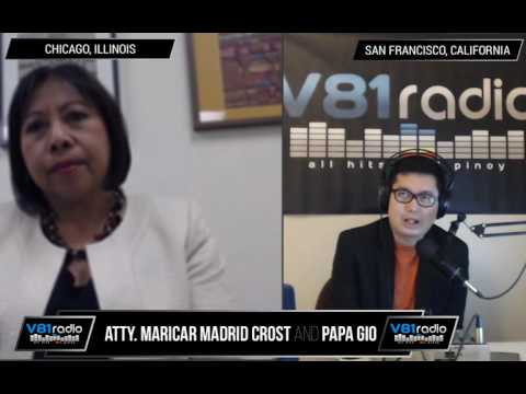 Episode 55 | US Visa Law (News & FAQs) with Atty. Maricar Madrid Crost