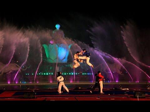 Pembukaan Festival Bela Diri Dunia di Purwakarta Istimewa 2017