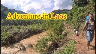 แบ่งปันน้ำใจสู่เมืองลาว EP24:ลุยป่าลุยเขาไปบ้านเฮ้าใต้ ระยะทาง 12 กิโลแม้ว(Adventure in Laos)