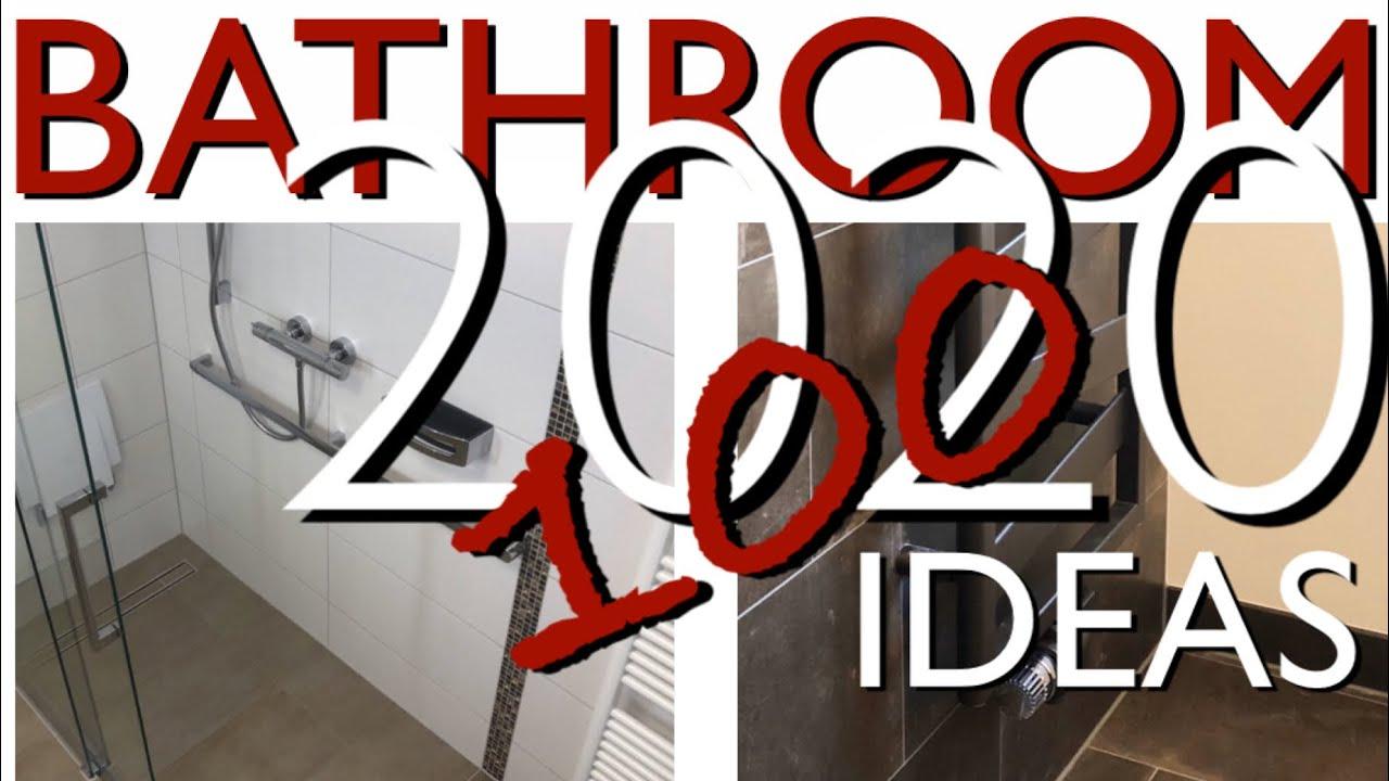 100 BATHROOM Ideas: Small Bathroom DESIGN Trends 2020 ...