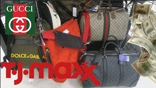 GUCCI BAGS SITTING at TJ MAXX!!! Discounted Designer Items!!!