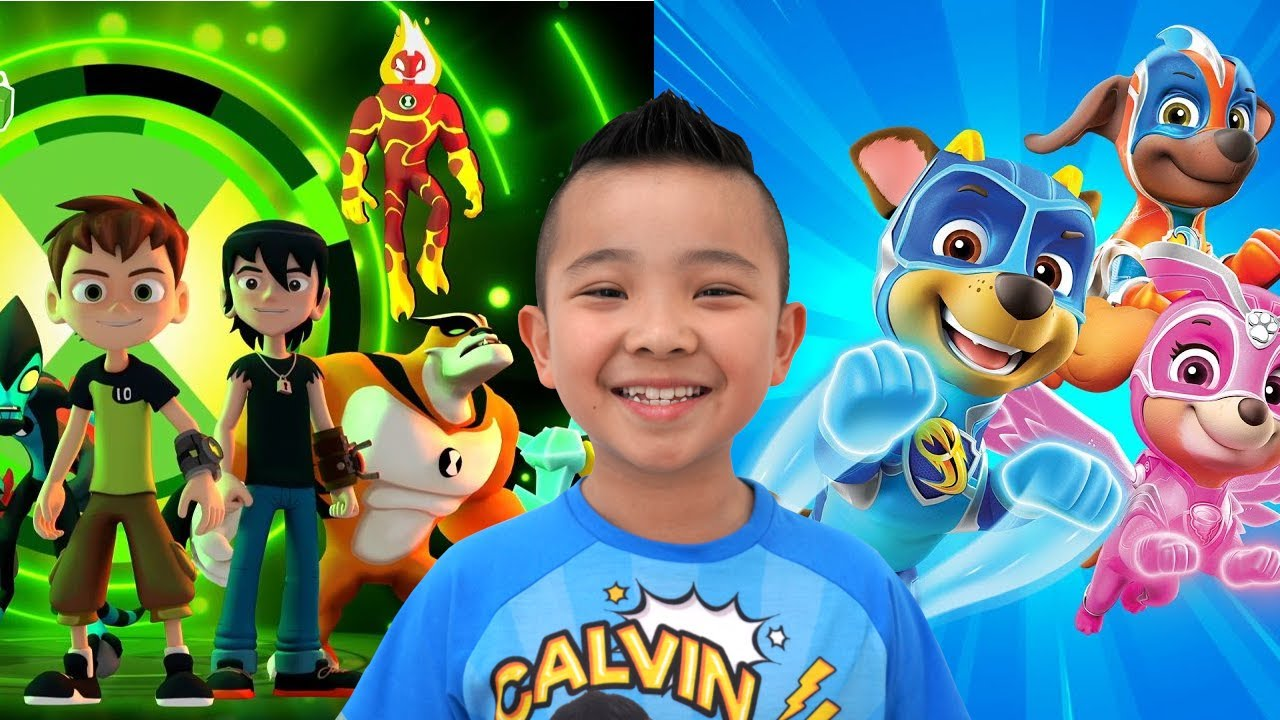 NEW Ben 10 PAW Patrol and Transformer Game CKN