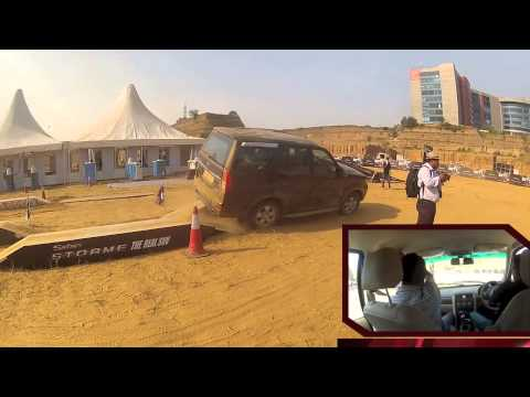 Tata Safari Storme off-roading experience