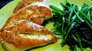 Cooking With Monica: Pan Fried Chicken Breasts