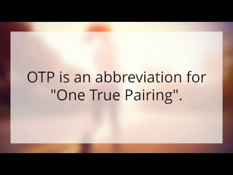 what does otp mean on celebs go dating