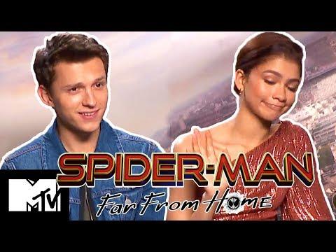 Tom Holland & Zendaya Talk New Lip Sync Battle   Spider-Man: Far From Home   MTV Movies
