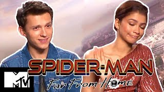 Tom Holland & Zendaya Talk New Lip Sync Battle & Play High School Quiz | Spider-Man: Far From Home