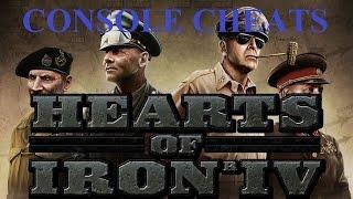 Hearts Of Iron IV - Console Cheats