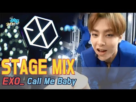 [60FPS] EXO - Call Me Baby 교차편집(Stage Mix) @Show Music Core