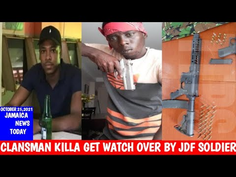Download Jermaine Robinson was the Jdf soldier who protect di Top killa clansman head 🔥/Jamaica News Today