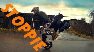 Как делать стоппи How to do a stoppie