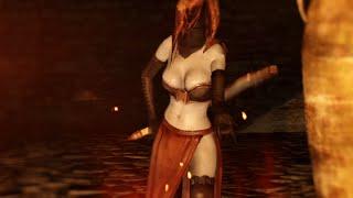Dark Souls 2 - Desert Sorceress Set (LOCATION)