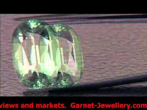 JTV's Vault Show: Merelani Mint Garnet, The Best of GemsTV Gemstones and Jewelry