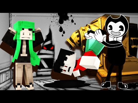 Thumbnail: Minecraft - Bendy and the Ink Machine - BENDY DROWNS ME?!