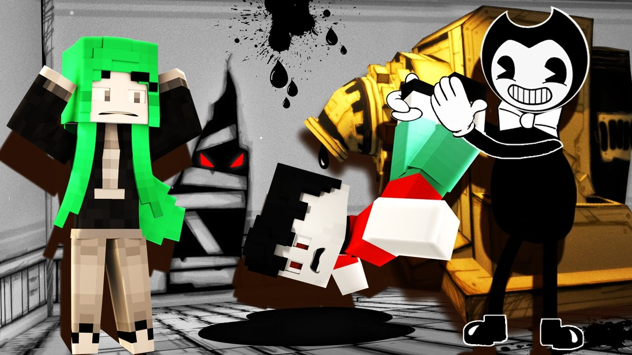minecraft bendy and the ink machine